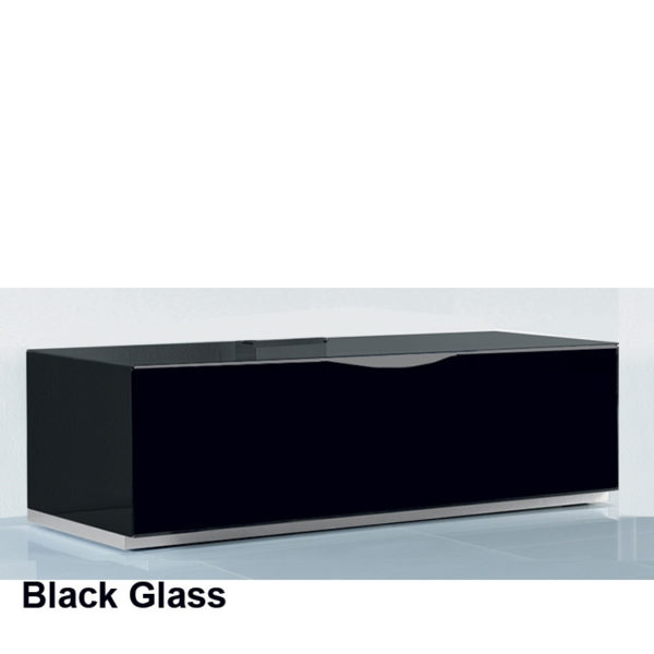 Rectangular Coffee Table on wheels in 4 tempered glass finishes